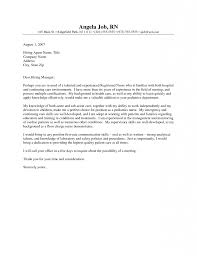 Awesome Inspiration Ideas New Nurse Cover Letter 12 Rn Student