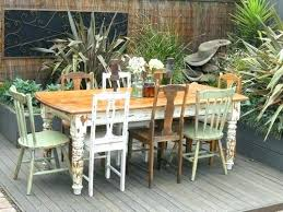 eclectic outdoor furniture. Awesome Shabby Chic Outdoor Furniture For Sale Vintage Table With 8 Eclectic 64 Garden Gumtree