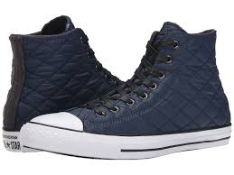 Mens Shoes Converse Chuck Taylor® All Star® Quilted Hi Nighttime ... & Mens Shoes Converse Chuck Taylor® All Star® Quilted Hi Nighttime Navy/Black  | 100% High Quality,The Most Fashion Designs Adamdwight.com