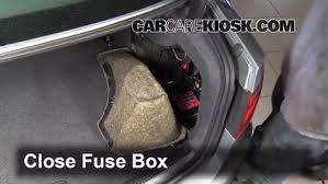 replace a fuse 2008 2016 audi s5 2008 audi s5 4 2l v8 6 replace cover secure the cover and test component