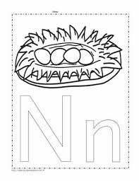 By now, i am sure you have enough of those. The Letter N Coloring Page Worksheets