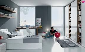 image teenagers bedroom. Grey White Contemporary Teenagers Room Image Bedroom O