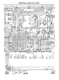 auto wiring diagram  1960 chevrolet corvette wiring diagram