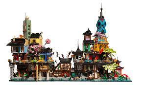 My Ninjago City that I edited with photoshop : Ninjago