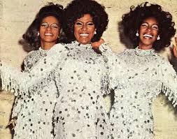 The Supremes: Lynda Lawrence, Jean Terrell & Mary Wilson. | Diana ...