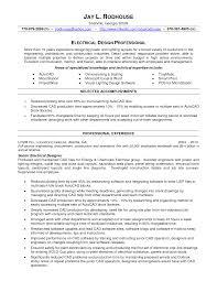 Autocad Operator Sample Resume Resume Sample For Cad Operator