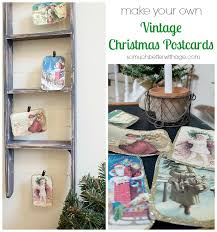 diy vintage postcards