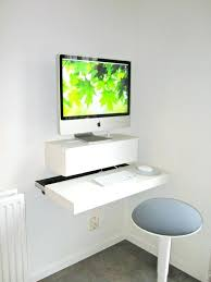 wall mounted office desk. Floating Wall Mounted Desk Office Desks To Enhance Your Home Part Homcom Mount Computer