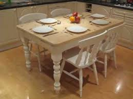 cottage kitchen furniture. Shabby Chic Cottage Farmhouse Kitchen Dinning Table With 4 Fiddleback Chairs Furniture