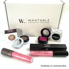 wantable makeup march 2016 subscription box review