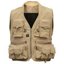 NEW <b>Men's Multifunction</b> Pockets Travels <b>Sports</b> Fishing Vest ...