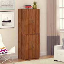 Storage Cabinet With Locking Doors Mainstays Storage Cabinet Multiple Finishes Walmartcom