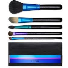 mac brush set box. mac cosmetics holiday brush set limited edition set. includes 116 blush mac box