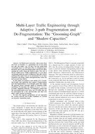 PDF) Multi-Layer Traffic Engineering through Adaptive Lambda-path ...