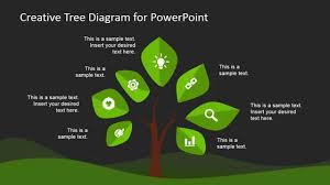tree diagram powerpoint creative tree diagram template for powerpoint youtube
