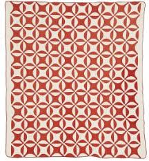 Current Exhibitions & Below: One of the Inspiration Quilts; Robbing Peter to Pay Paul/Orange  Peel. PQ.2006.006.001 RMQM Permanent Collection. 1876–1900 Adamdwight.com