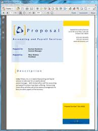 View Accounting And Payroll Services Proposal Places To Visit
