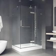 Corner shower stalls Fiberglass Quickview Wayfair Shower Stalls Enclosures At Great Prices Wayfair