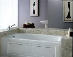 jacuzzi ams7236blb black 72 x 36 amiga three wall alcove soaking bathtub with left drain faucet com