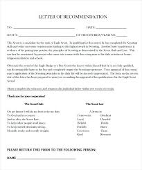 Eagle Scout Letter Of Recommendation Stunning Eagle Scout Reference Letters Recommendation Letter Template With Of