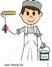 Hasil gambar untuk tukang cat