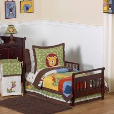 toddler bed sheets boy sweet jojo designs boy 5 piece jungle time toddler comforter set toddler
