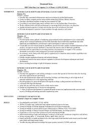 Example Software Engineer Resume Senior Cloud Software Engineer Resume Samples Velvet Jobs 17
