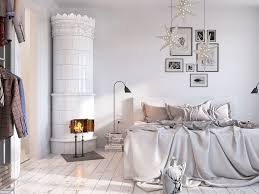Ornate Nordic Porcelain Stove