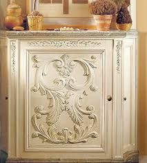 wood furniture appliques. Wood Appliques For Furniture. Modesto Carved Horizontal Furniture Onlay Installed On The Custom Cabinet