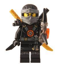 Lego Ninjago Movie Series Cole Minifigure