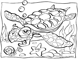 Small Picture Sea Turtle coloring page Animals Town animals color sheet