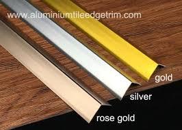sleek anodized aluminium corner guard