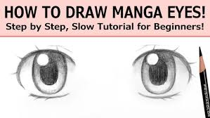How To Draw Eyes Step By Step How To Draw A Realistic Eyes Step By For Beginners Pdf And