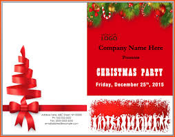 Christmas Template For Word Stunning Free Christmas Invite Templates For Word Kenicandlecomfortzone