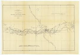 18 X 24 Inch 1881 Us Old Nautical Map Drawing Chart Of