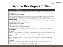 Personal Performance Plan Template Individual Performance