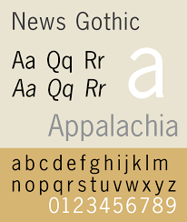 List Of Typefaces Designed By Morris Fuller Benton Wikipedia