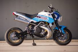 yz250 powered honda grom 50 horsepower