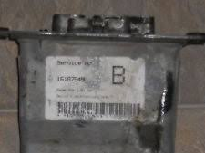 chevrolet beretta abs system parts 1994 1996 chevrolet beretta or corsica abs module 16187949 fits chevrolet beretta