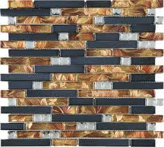 Glass mosaic tiles ...