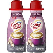 4.6 out of 5 stars 486. Coffee Mate Liquid Italian Sweet Cream Non Dairy Creamer Bjs Wholesale Club