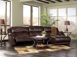 amazing full grain leather sofa and contemporary table