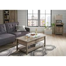 better homes gardens modern farmhouse lift top coffee table rustic gray finish com