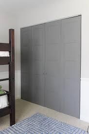 craftsman style closet doors