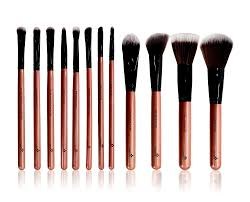 picture of essential 12 makeup brushes set