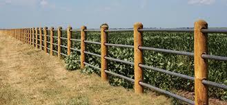 fence. 4 Rail Safe Fence