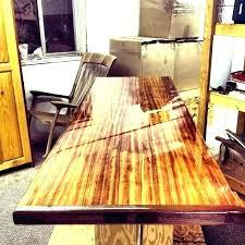 how to finish a wood bar top opgroeiendekindereninfo outdoor wood bar