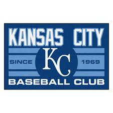 fanmats mlb kansas city royals blue 2 ft x 3 ft area rug