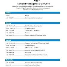 Template For A Program For An Event Event Planning Agenda Template Event Planning Agenda Template Sample
