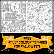 Halloween Colouring Pages For Adults Mum In The Madhouse